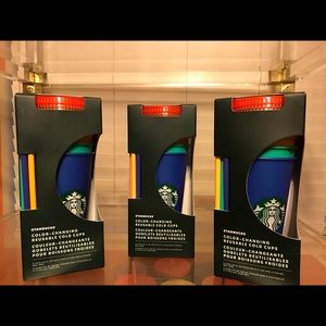 3 Boxes Color Changing Cups Starbucks